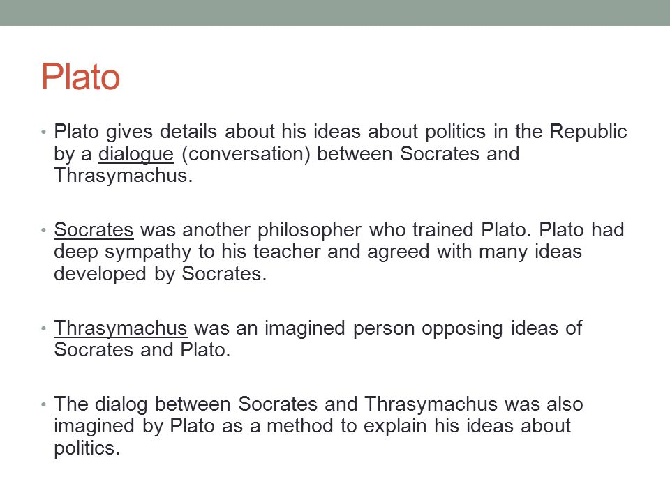 characterization of glaucon and thrasymachus from platos republic Callicles and thrasymachus are the two great exemplars in philosophy of contemptuous challenge to conventional morality both are characters in platonic dialogues, in the gorgias and book i of the republic respectively both denounce the virtue of justice, dikaiosunê, as an artificial brake on self-interest, a fraud to be seen through by intelligent people.