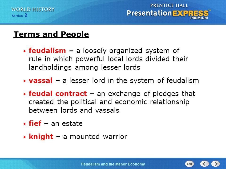 how was medieval society organized under feudalism