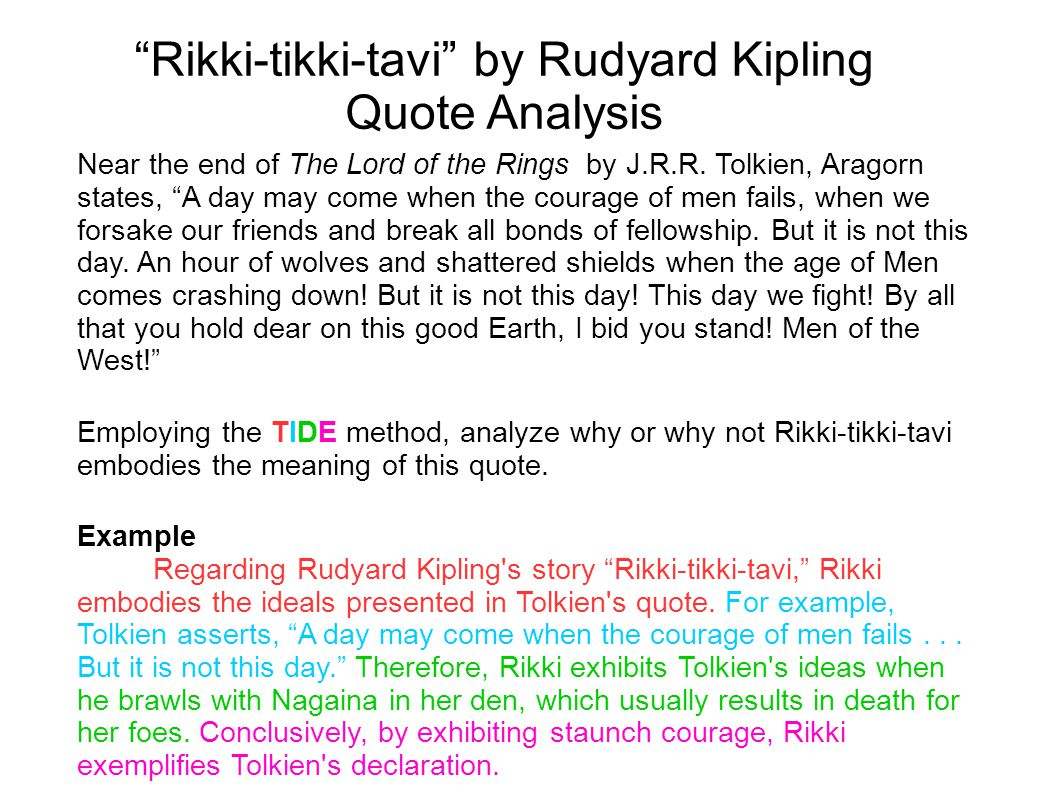 if by rudyard kipling summary