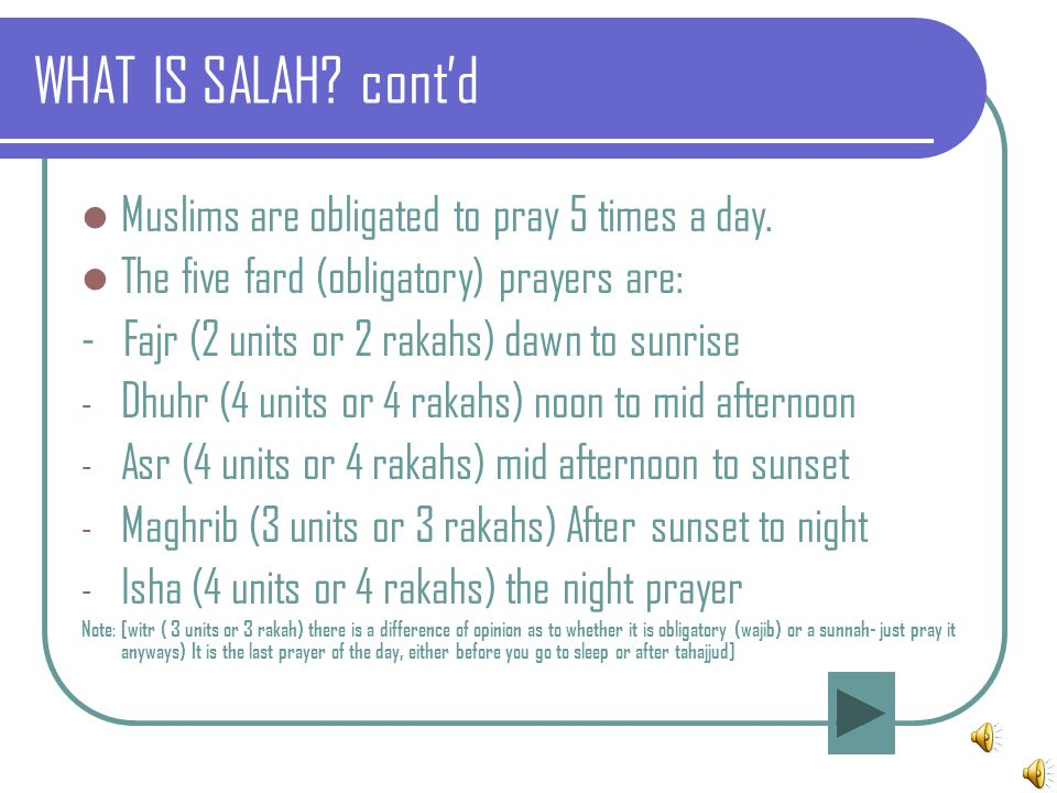THE IMPORTANCE OF SALAH - ppt video online download