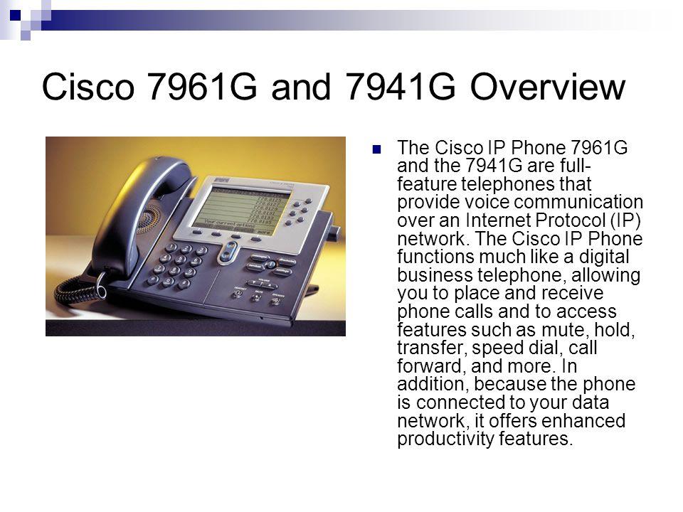 Cisco IP Phone User Training  - ppt download
