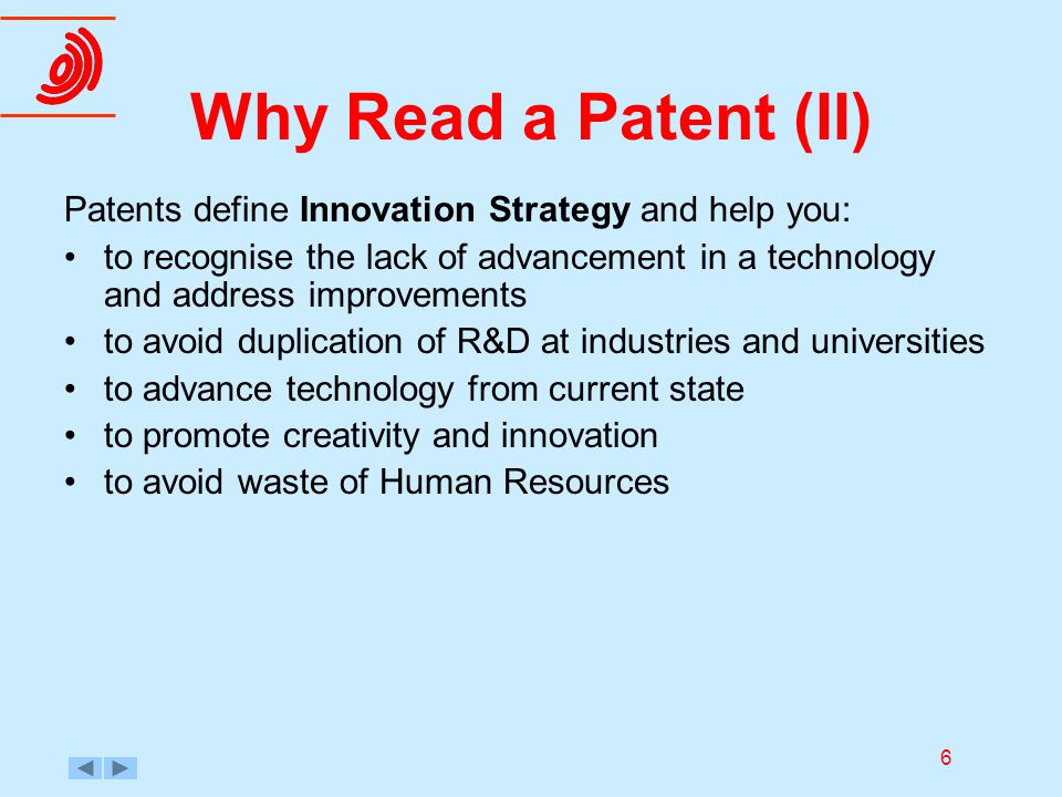 Why Read A Patent II Patents Define Innovation Strategy And Help You