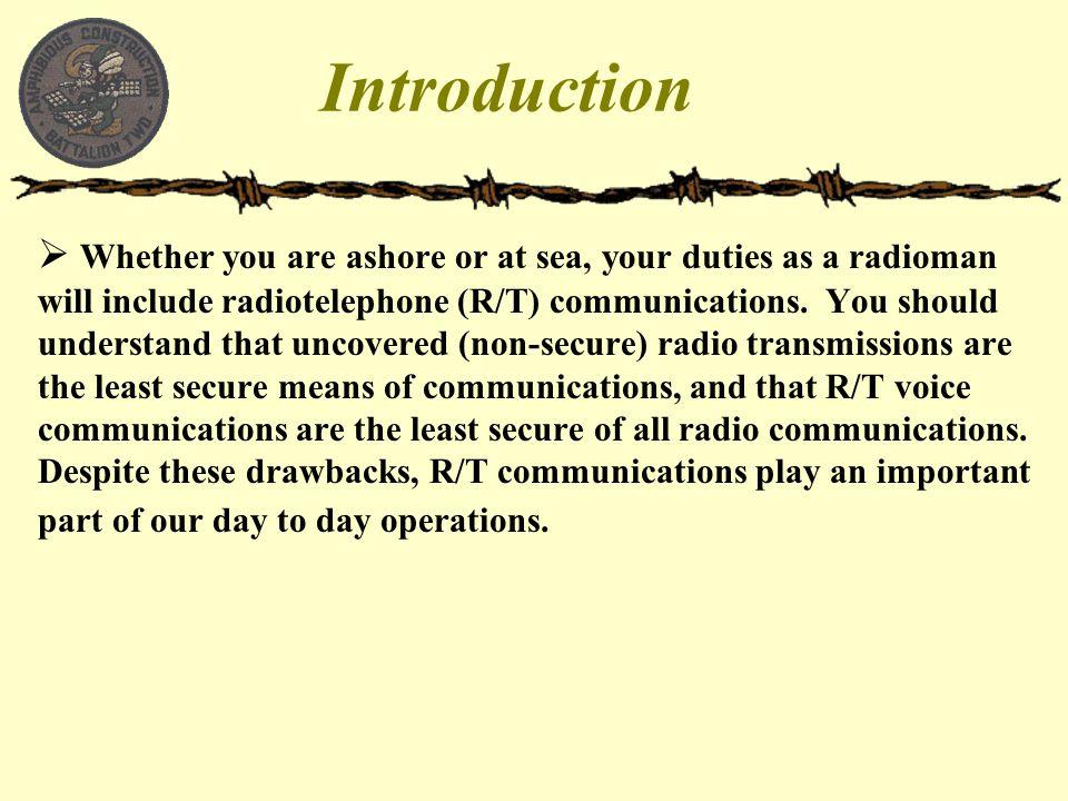 Radio Etiquette Basic Radio Procedures  - ppt video online