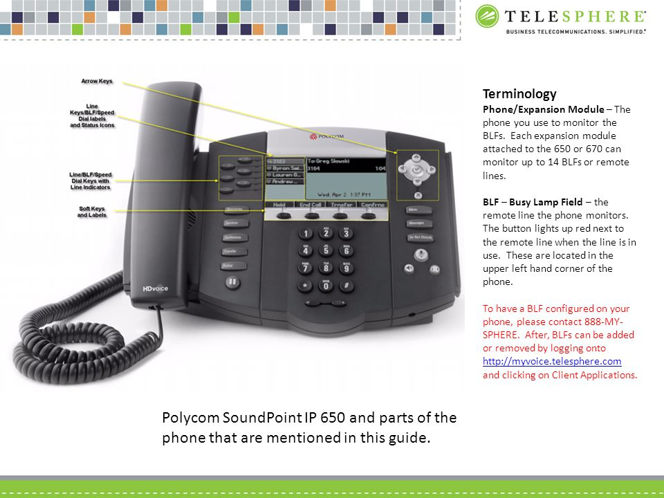 busy lamp field user guide for polycom soundpoint phones ppt video rh slideplayer com polycom ip 650 quick user guide polycom soundpoint ip 650 user manual