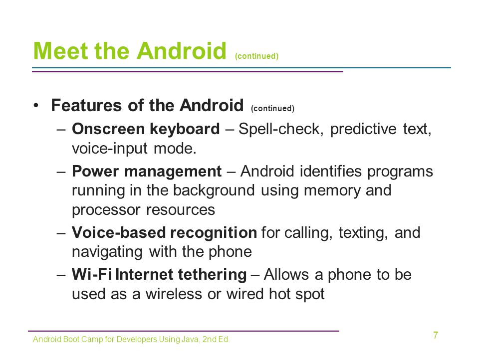 Chapter 1: Voilà! Meet the Android - ppt video online download