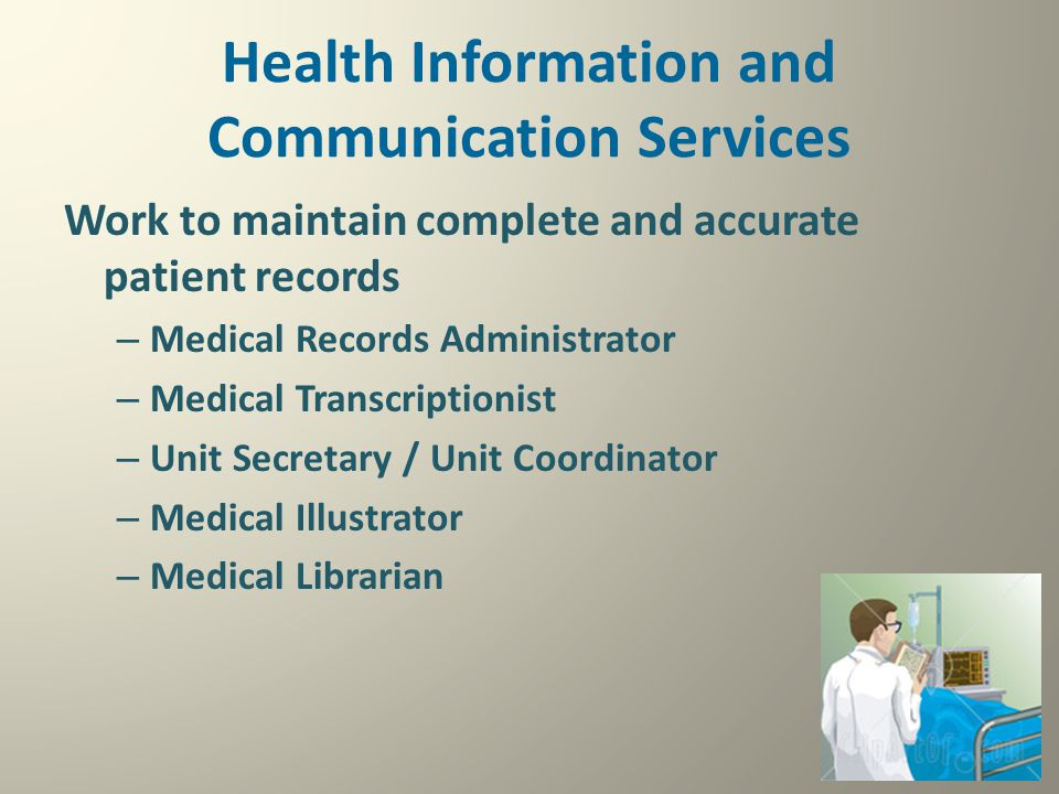 Health Information and Communication Services