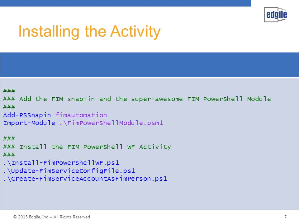 FIM Workflows with PowerShell - ppt video online download