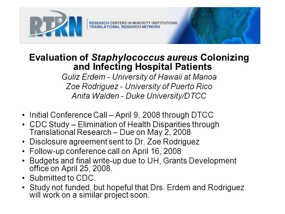 Evaluation of Staphylococcus aureus Colonizing and Infecting Hospital Patients