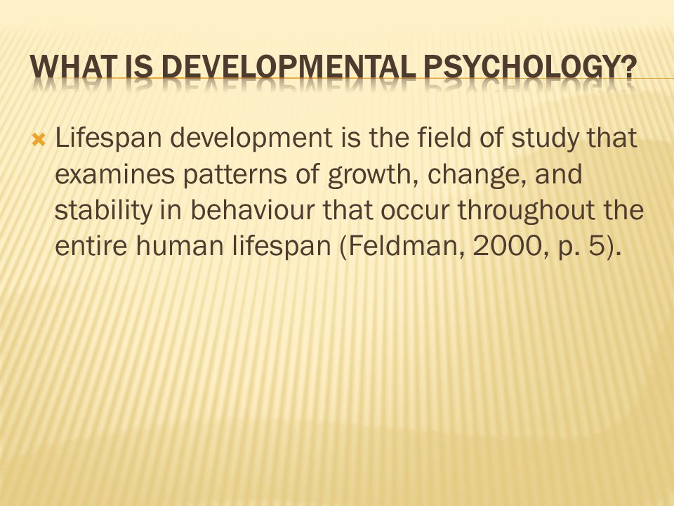 what is growth in psychology