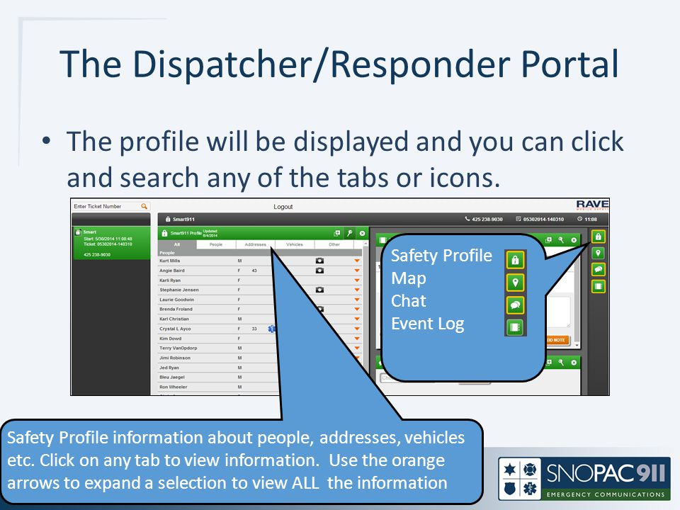 The Dispatcher/Responder Portal
