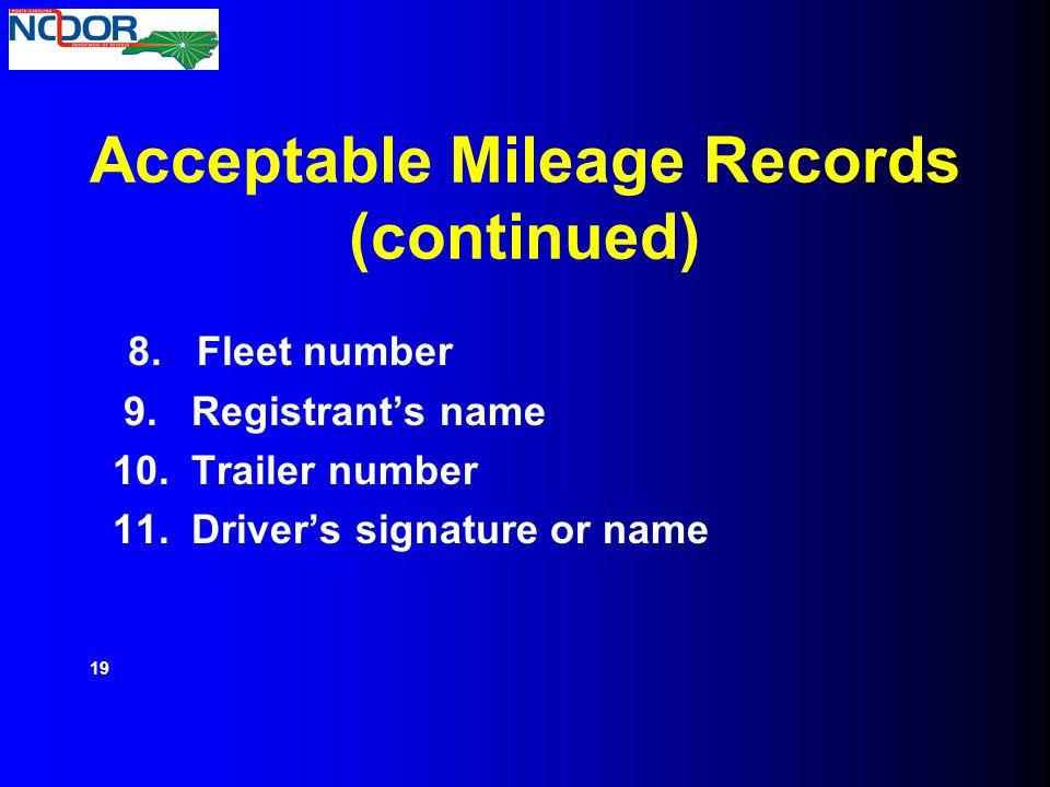 ifta irp audit process mileage audit ppt download