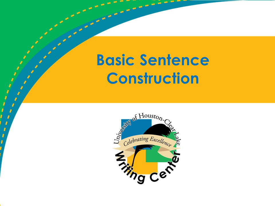 Basic Sentence Construction