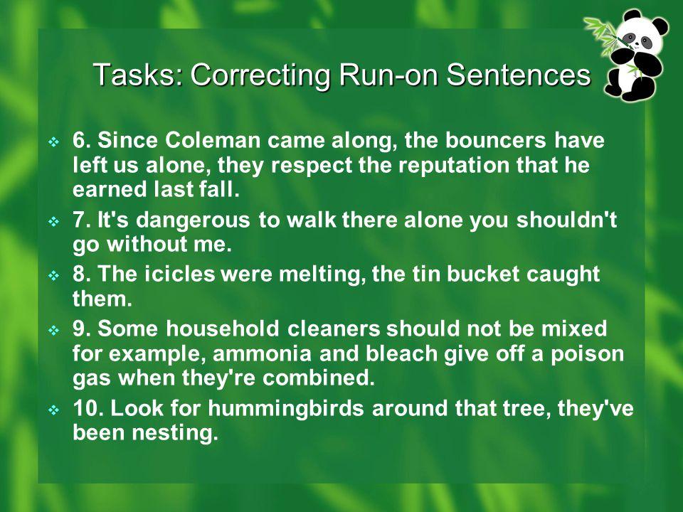 Sentence Writing Run On Sentences Ppt Video Online Download