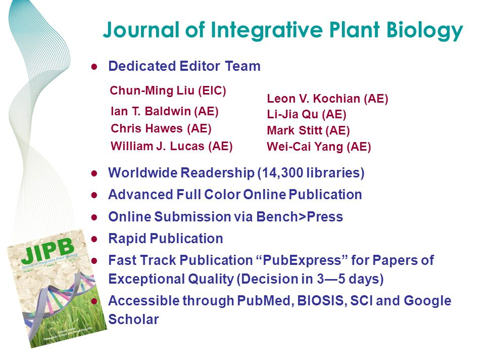 Journal of Integrative Plant Biology