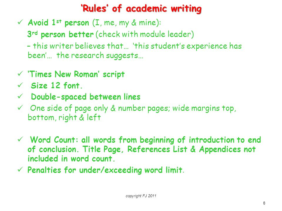 Essential Student Academic Writing Skills Ppt Download