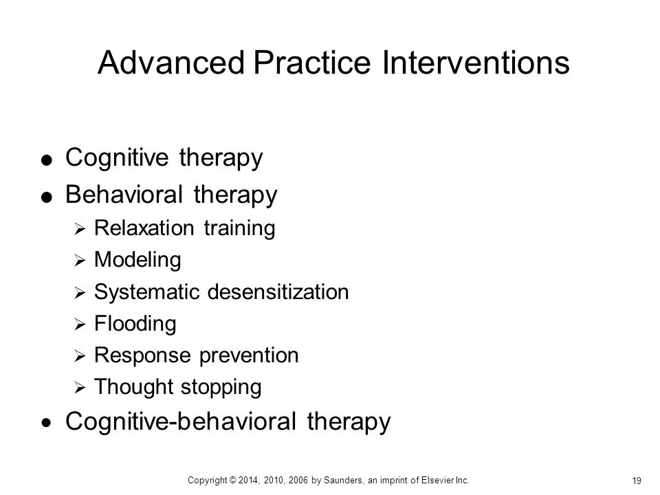 Advanced Practice Interventions