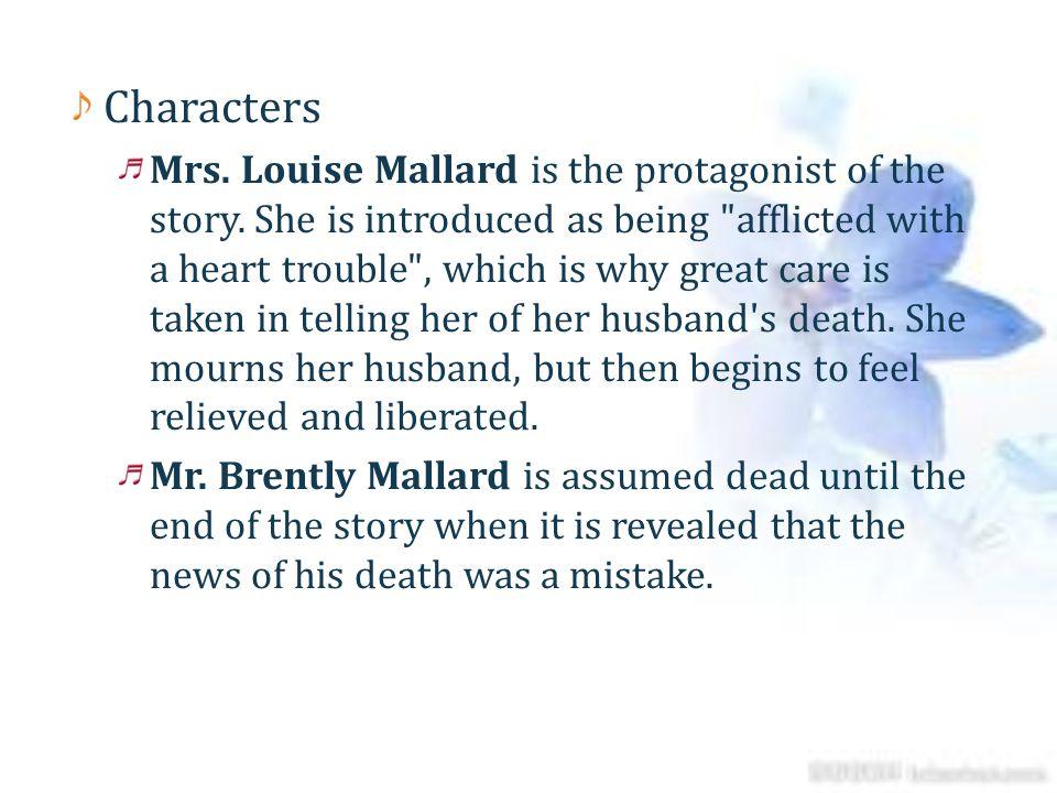 the story of an hour characterization mrs mallard
