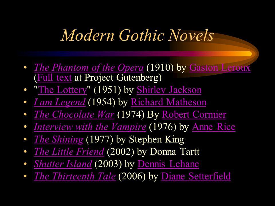 gothic literature ppt download