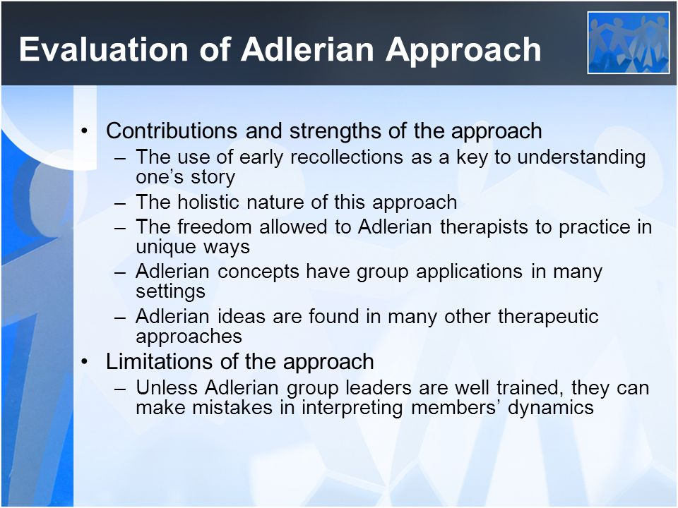 limitations of adlerian theory
