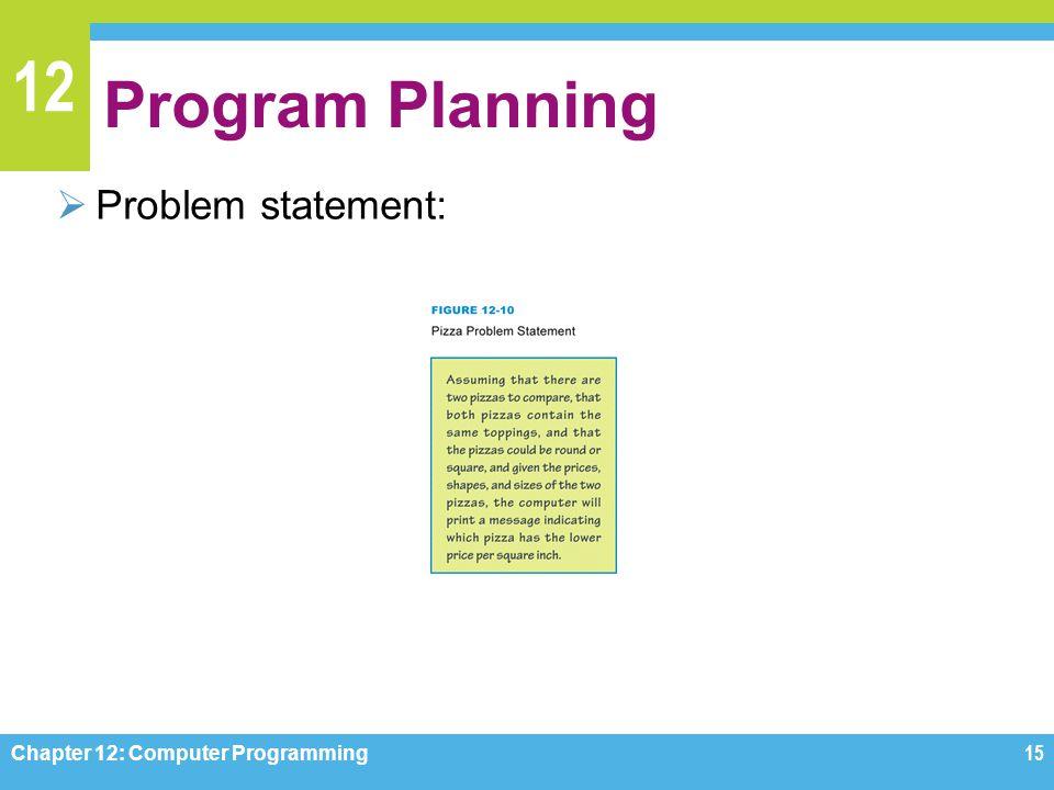 planning the computer program pdf