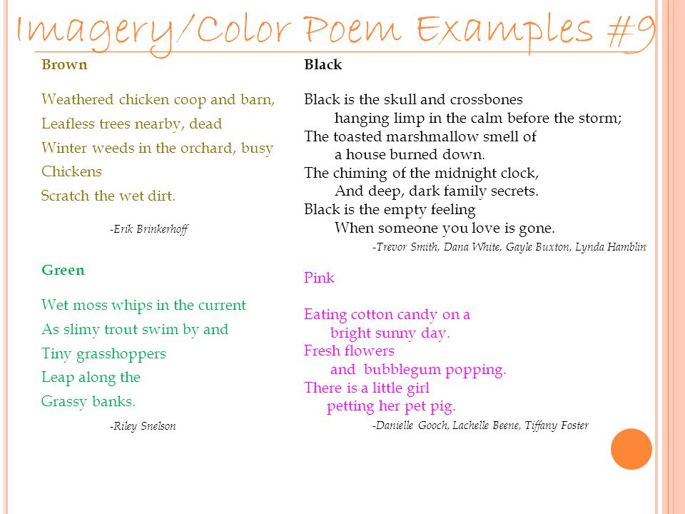 Poetry Unit Fourth Term Project  - ppt download