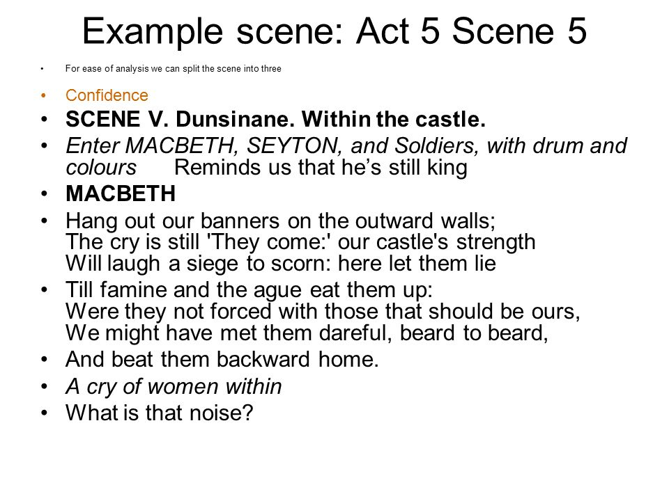 macbeth act 5 scene 5 soliloquy
