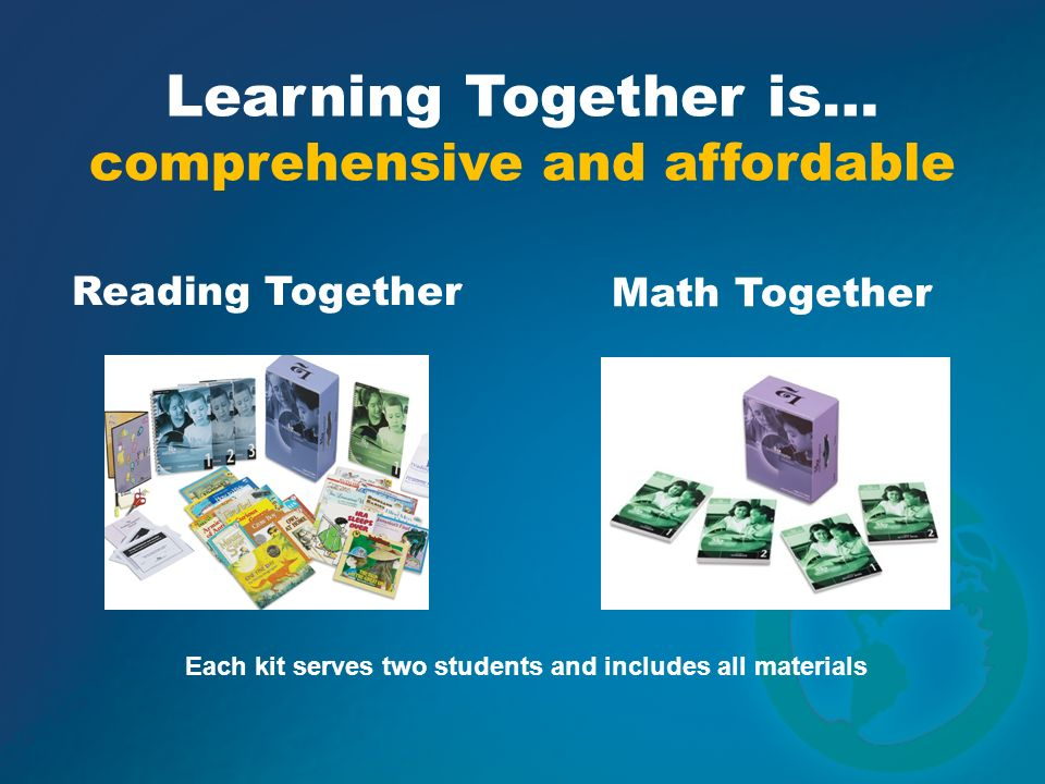 Each kit serves two students and includes all materials