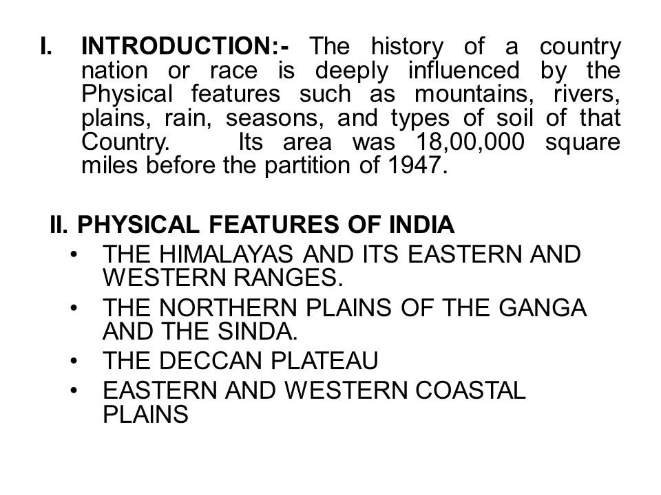 1 physical features of india and their impact on indian history physical features of india and their impact on indian history 3 introduction thecheapjerseys Gallery