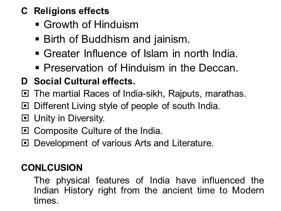 1 physical features of india and their impact on indian history 5 birth altavistaventures Images