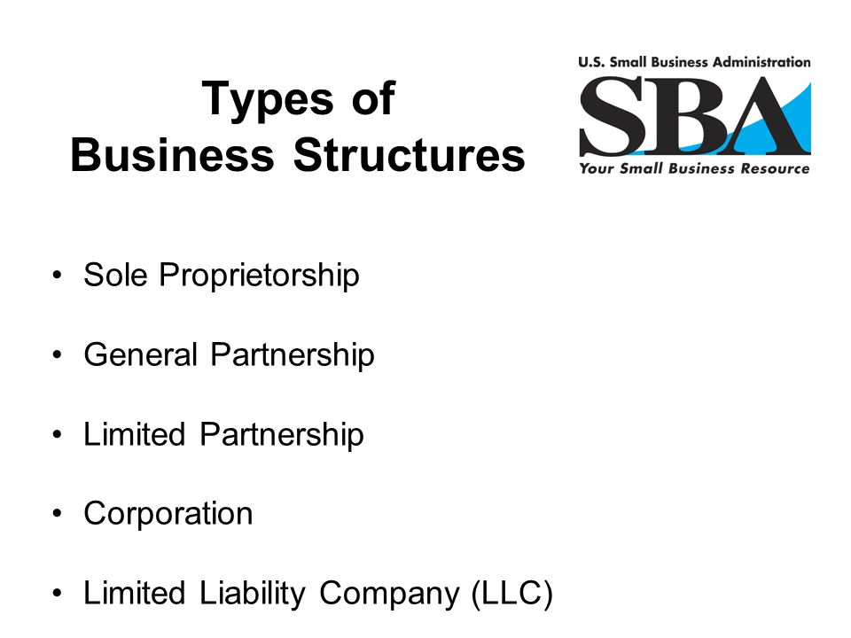Types of Business Structures