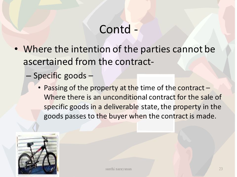 Sale Of Goods Act 1930 Santhi Narayanan Ppt Video Online Download