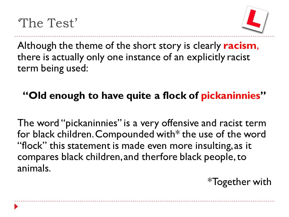 is the word pickaninny racist
