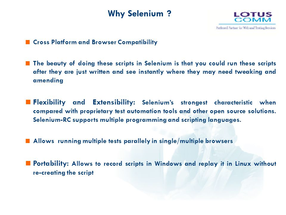 Test Automation with Selenium - ppt download