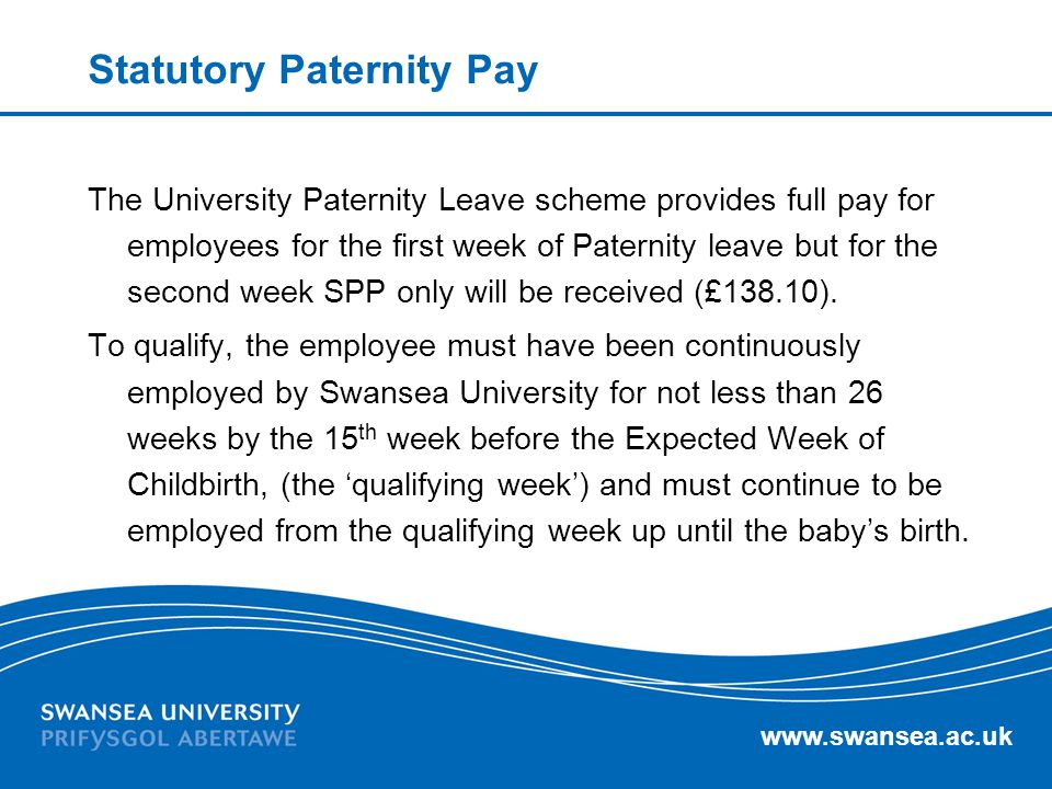 Statutory Paternity Pay