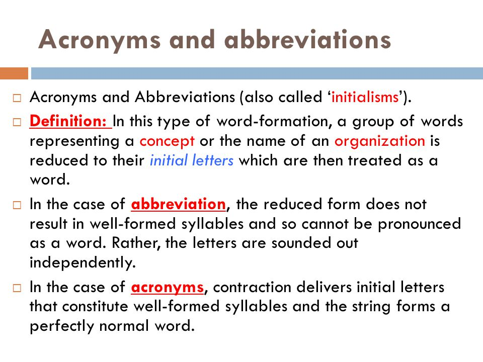 Internet acronyms dictionary