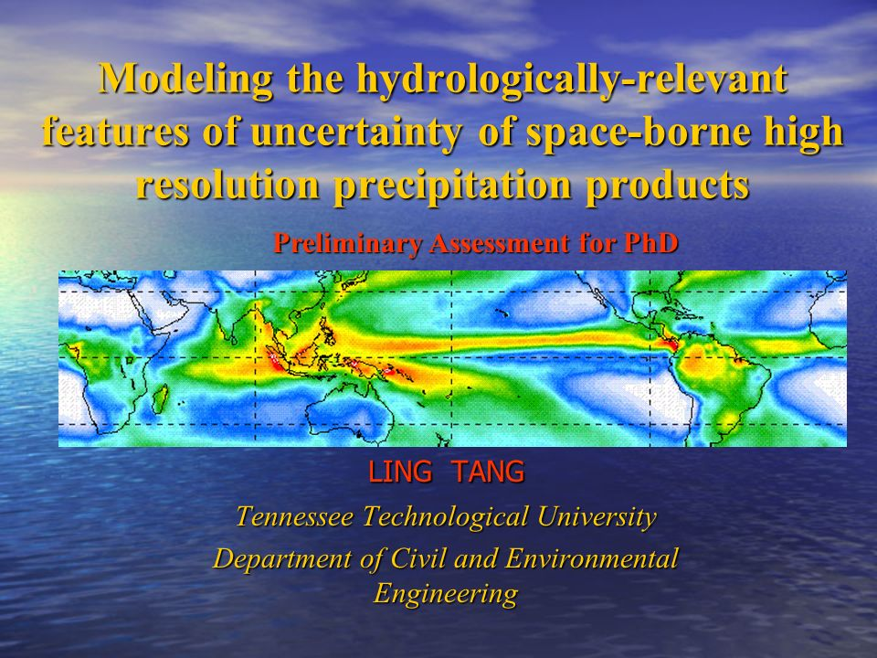 Modeling the hydrologically-relevant features of uncertainty of space-borne high resolution precipitation products