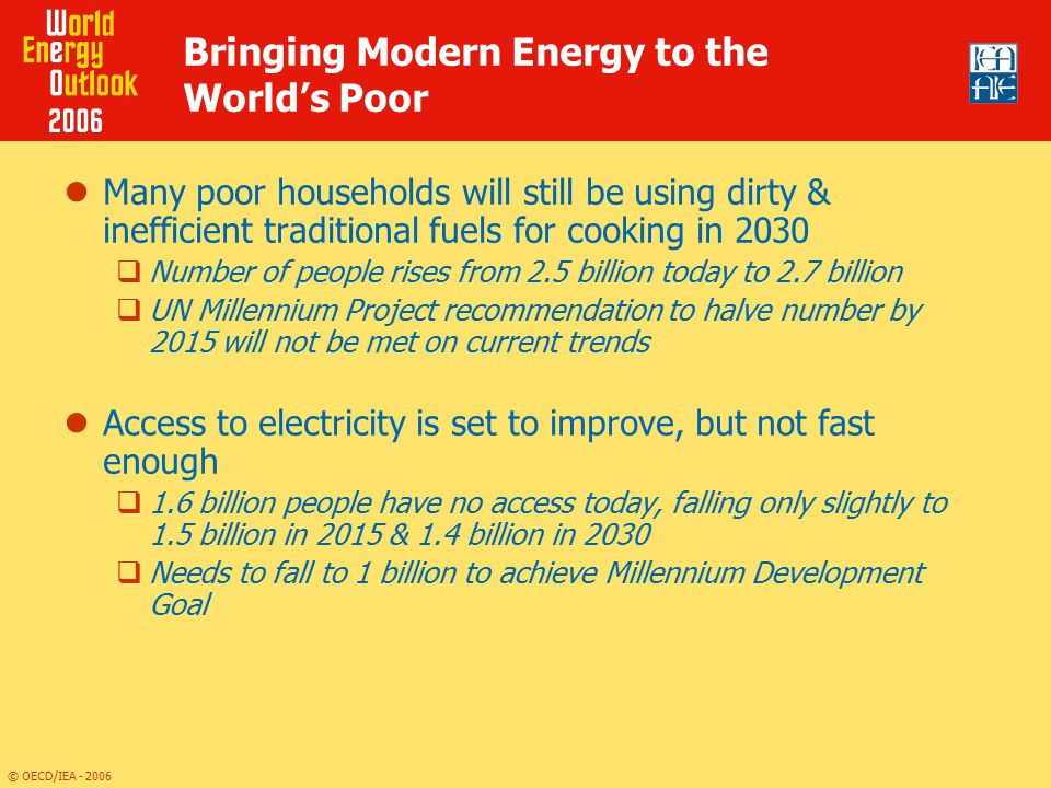 Bringing Modern Energy to the World's Poor