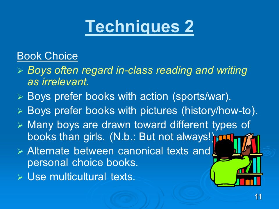 Techniques 2 Book Choice