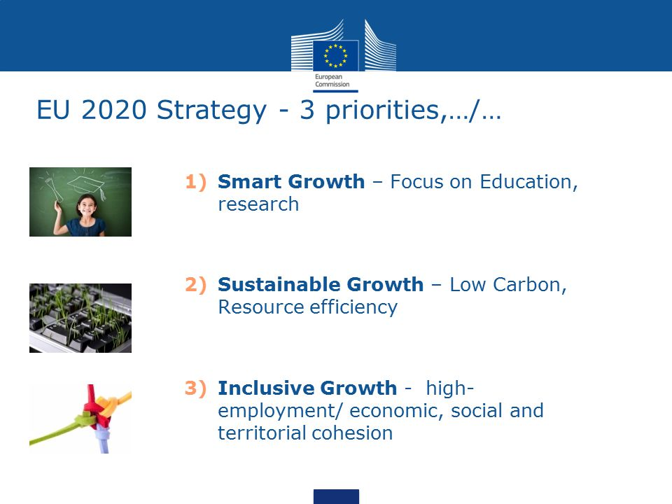 EU 2020 Strategy - 3 priorities,…/…