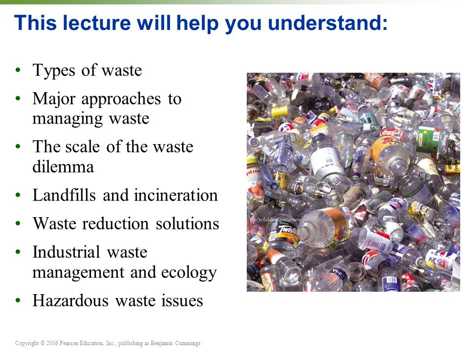 22 Waste Management Part A PowerPoint® Slides prepared by - ppt ...