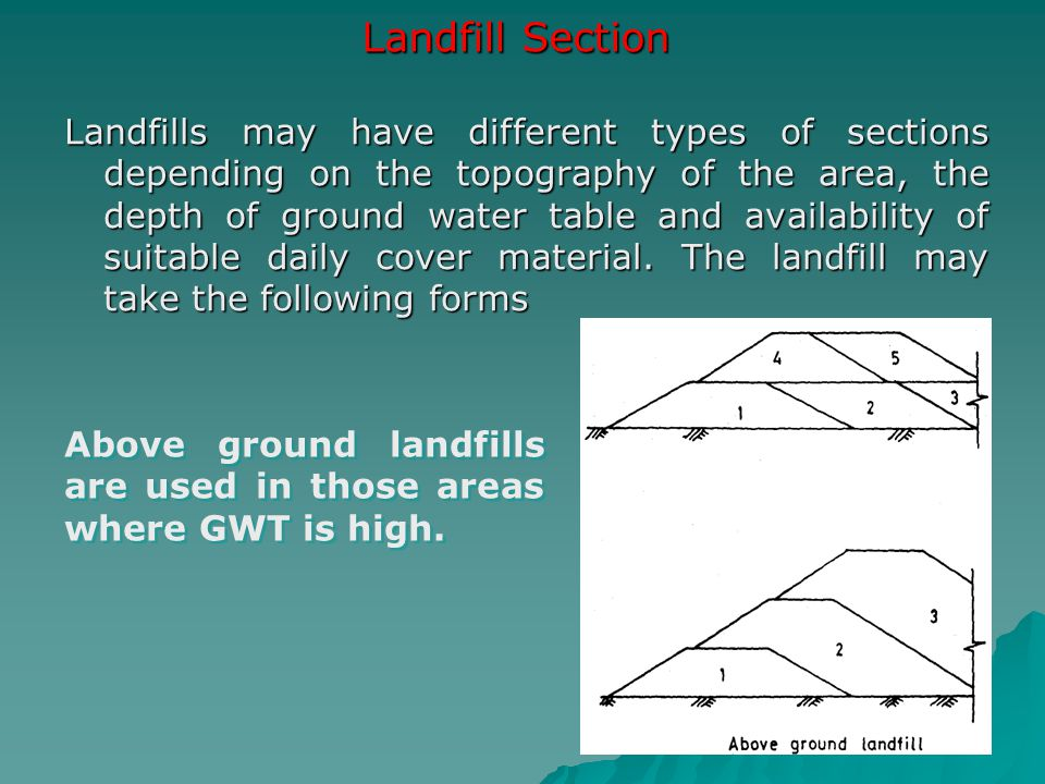 Landfill Section
