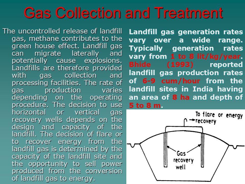 Gas Collection and Treatment