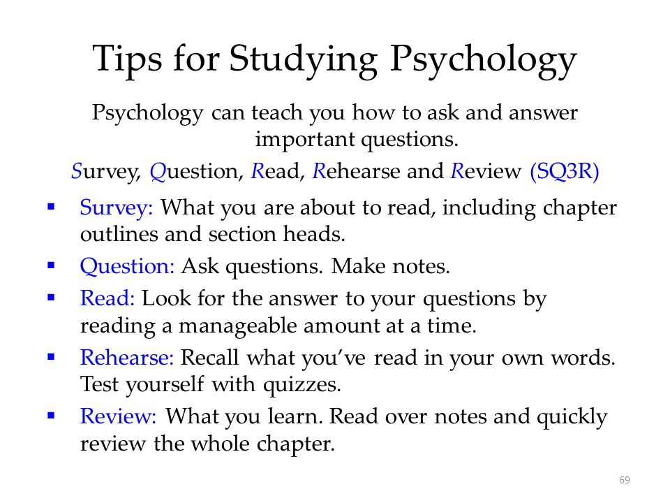 good psychology survey questions