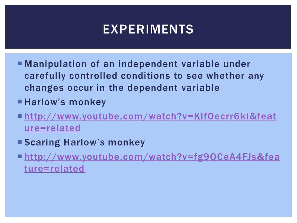 Harlow's Monkey Experiment - psychologynoteshq.com