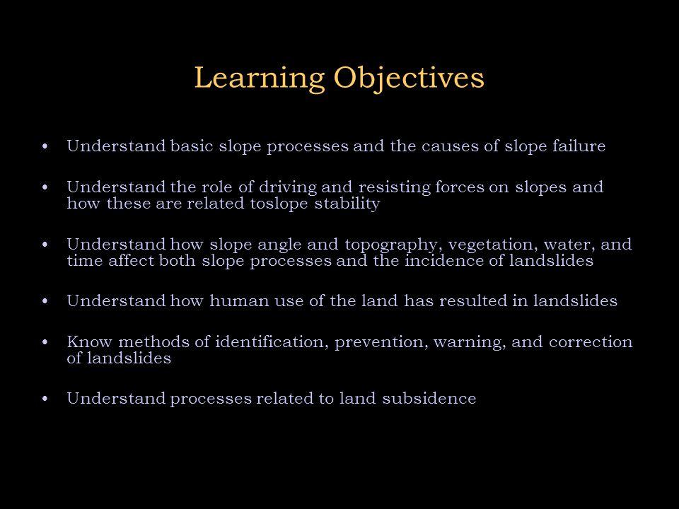 Landslides  - ppt video online download