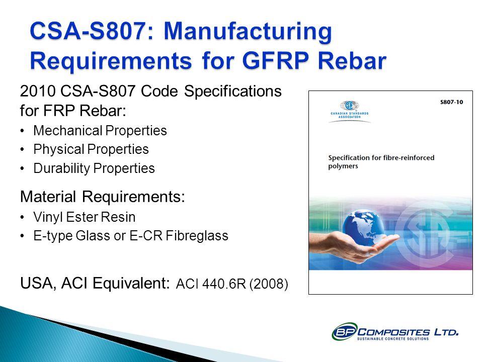 Fibreglass GFRP Rebar for Concrete Reinforcement - ppt video