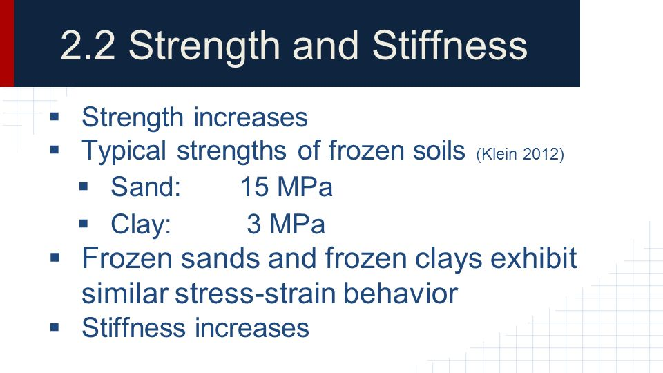 2.2 Strength and Stiffness