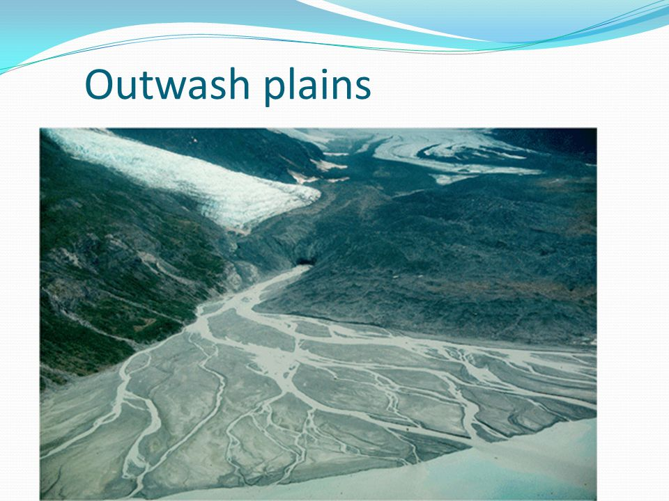 Outwash plains