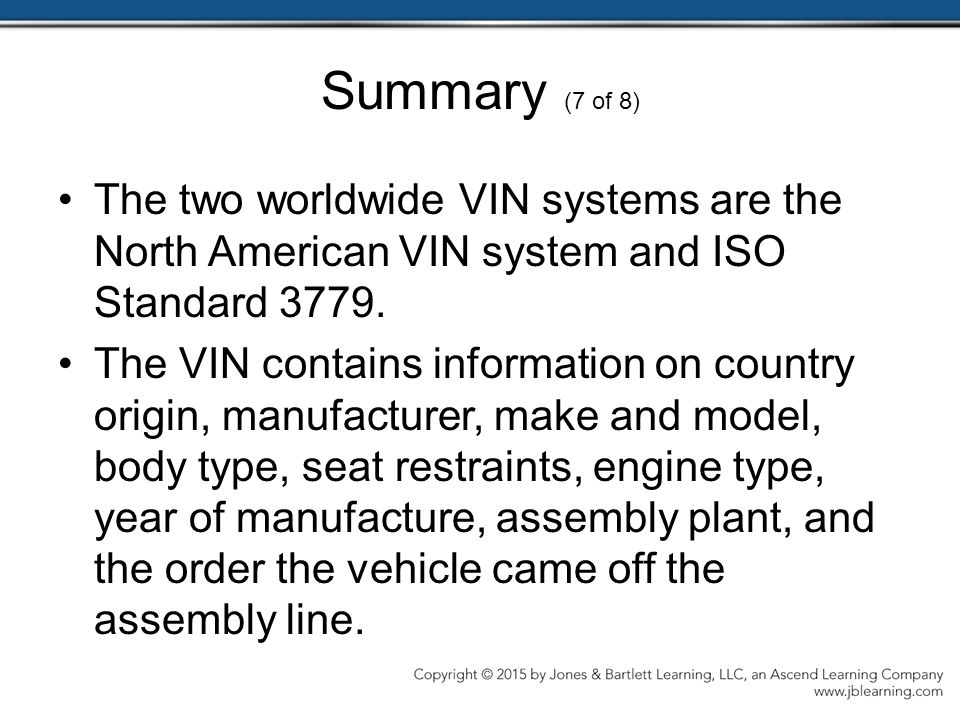 Chapter 5 Vehicle, Customer, and Service Information - ppt