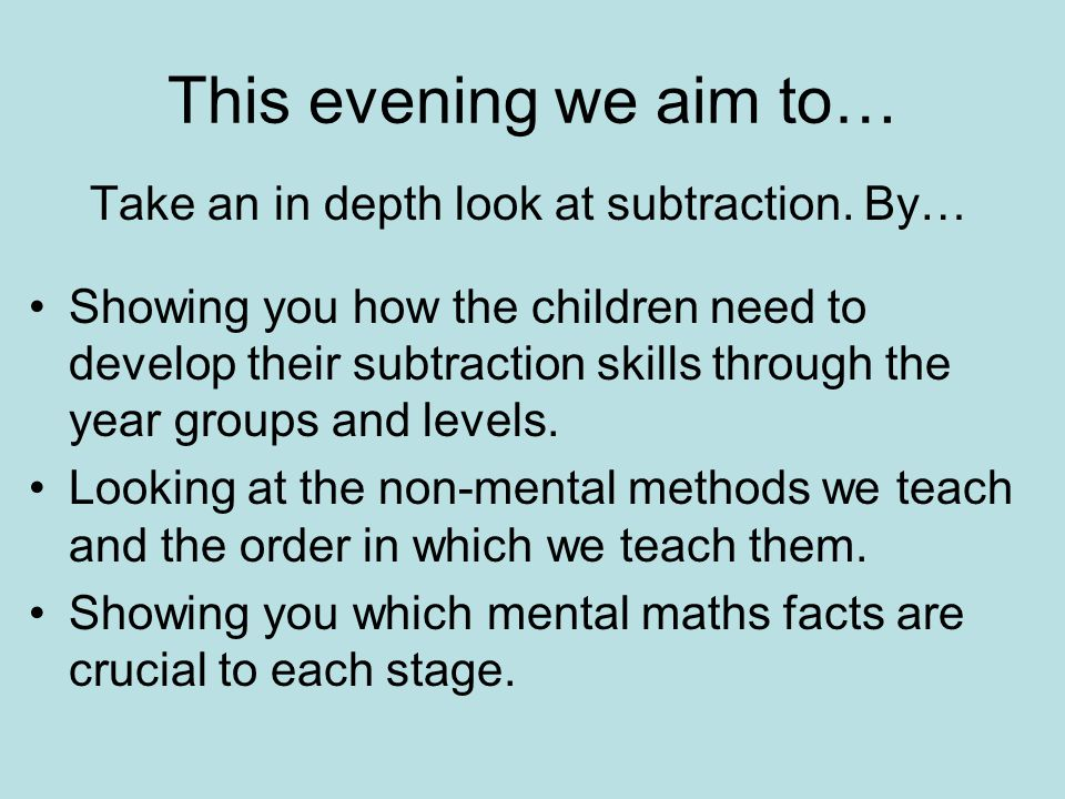 Welcome to our Mathematics Evening - ppt video online download